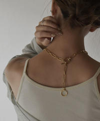 necklace2-02039 MADE IN JAPAN CLIP CHAIN MANTEL NECKLACE
