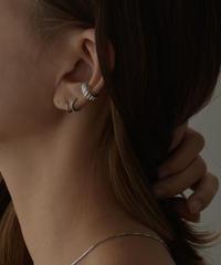 earcuff-02014  STERLING SILVER 925 SPIRAL EAR CUFF