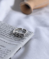 ring2-02117 STERLING SILVER 925 CHAIN RING