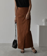 bottoms-04033  MADE IN JAPAN POCKET CHINO STRETCH SKIRT