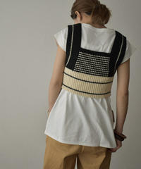 knit-02131 DESIGN KNIT BUSTIER