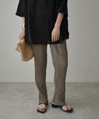 bottoms-02113 WASHER PLEATED LEGGINGS PANTS