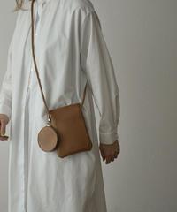 bag2-02568 ECO LEATHER MINI SHOULDER BAG WITH COIN CASE