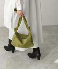 bag2-02548 KNOT DESIGN SHOULDER BAG