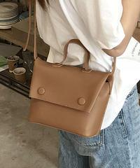 bag2-02367 SHOULDER BAG HANDBAG WITH POUCH