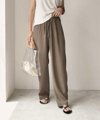 bottoms-02029 LOOSE WIDE EASY SATIN PANTS