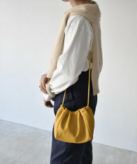 bag2-02490 ECO LEATHER DRAWSTRING BAG