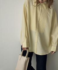 tops-02212 TUCK DRESS SHIRT