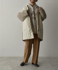 outer-04015 MADE IN JAPAN REVERSIBLE QUILTING BOA COAT
