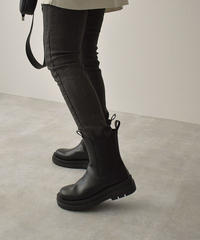 shoes-02140 TRACK SOLE SIDE GORE BOOTS