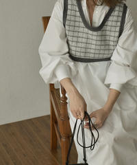 knit-02132 JACQUARD KNIT BUSTIER