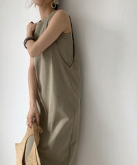 onepiece-04017 MADE IN JAPAN LAYER TANK DRESS