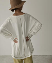 tops-04054  MADE IN JAPAN LAYERED LOOSE T-SHIRT