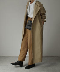outer-04011 MADE IN JAPAN VENTILE COLORLESS OVER TRENCH COAT