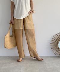 bottoms-04024 MADE IN JAPAN SHEER PANTS