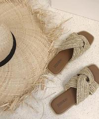 shoes-02075 CROSS SANDALS
