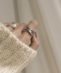 ring2-02055 STERLING SILVER 925  MULTIPLE CROSS RING