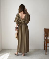 onepiece-04022 MADE IN JAPAN 2-WAY CACHE COEUR DRESS