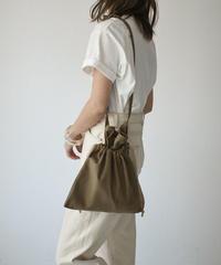 bag2-02499 MADE IN JAPAN RED CROSS APRON DRAWSTRING BAG