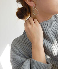 pierce2-02074  STERLING SILVER 925 BASE DESIGN STUD EARRINGS