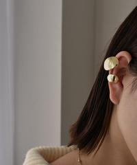 earcuff-02019  COMBI OVAL EAR CUFF