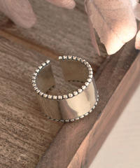 ring2-02108 STERLING SILVER 925  WIDE DESIGN RING