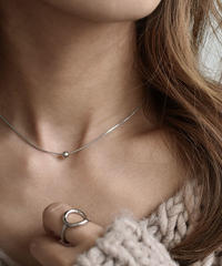 necklace2-02019 STERLING SILVER 925  BALL TOP NECKLACE