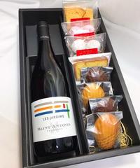 【フランス人のソムリエ厳選】赤ワインと焼菓子ギフトセット