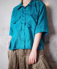 Emerald Paisley Shirt