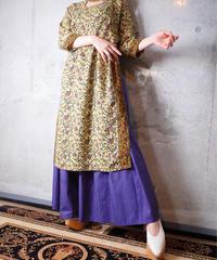Exotic Slit Dress