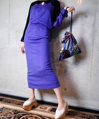 Velvet Switch Dolman Dress