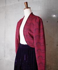 """Pierre Cardin"" Arabesque Woven Bolero Jacket"