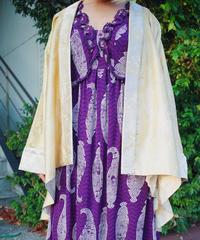 Kimono × Velvet Lining Gown