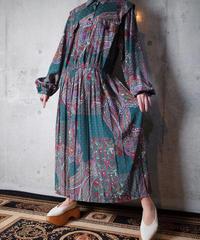 Paisley & Flower Dress
