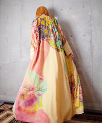 Hand Paint Crazy Art Gown