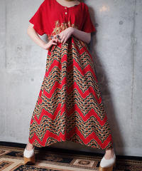 African Pattern Rayon Dress
