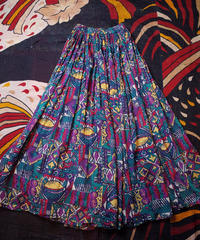 Primitive Crazy Pattern Skirt