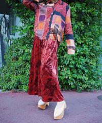 Oriental Velvet Skirt