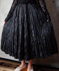 Wrinkle Gather Skirt