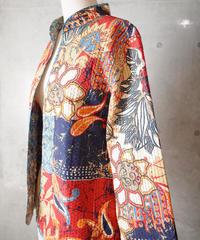 Exotic Quilting Mao Caller Jacket Reversible