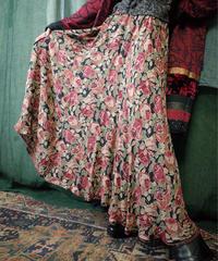Sheer Rayon Rose Skirt