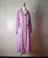 Oriental Arabesque Front Open Dress