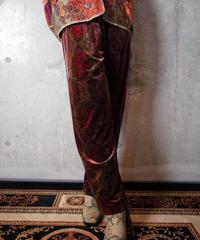 Arabesque Velvet Pants