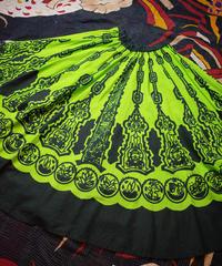 African Pattern Circular Skirt