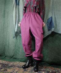 Remake Rib Pants Pinkpurple