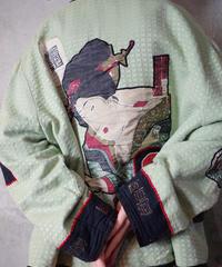"""""""浮世絵"""" Patch Jacket"""