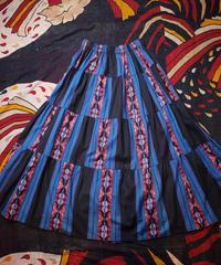 Native Stripe Tiered Skirt