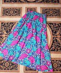 Beautiful Flower Rayon Skirt