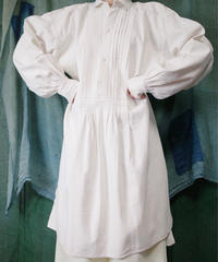 French Antique Linen Smock from 1890~era