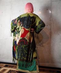 """""""Exotic Lady"""" Velvet × Bijou Fringe Gown"""